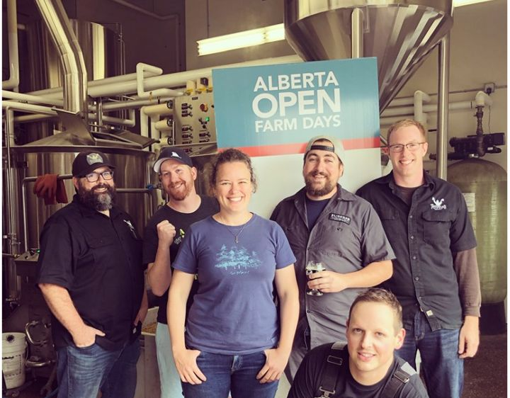In an effort to showcase local ingredients like malt barley, hops and different berries, Alberta Open Farm Days reached out to a number of craft breweries in the province to see if they would collaborate on a special Open Farm Days beer ale.