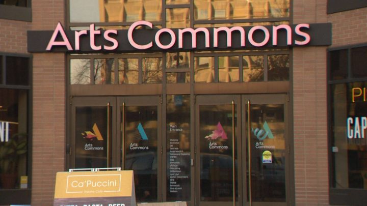 The entrance to Arts Commons, one of the 36 southern Alberta arts organizations and festivals receiving funding from the federal government, as announced on Aug. 29, 2019.