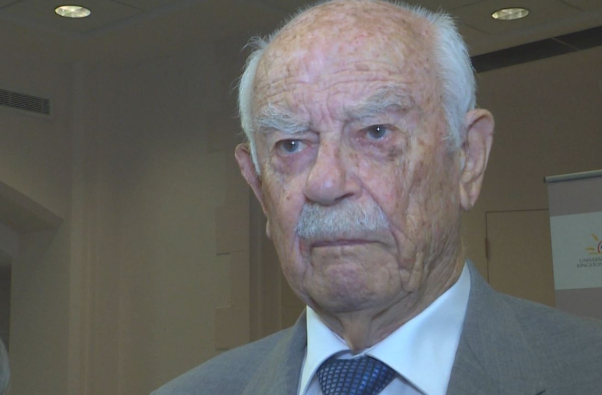 Homestead Land Holdings founder Britton Smith, 98, has revealed why he donated several million dollars to the Marine Museum of the Great Lakes so it could purchase the Ontario Street dry dock.