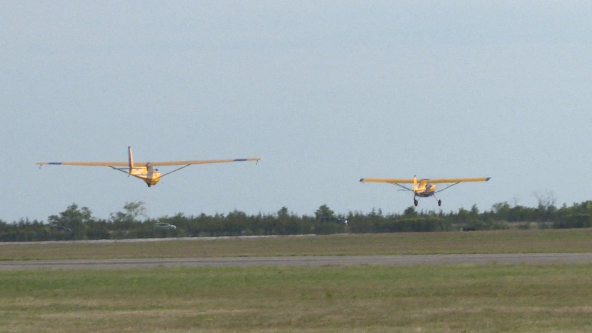 A 16-year-old cadet crashed a glider while training in Prince Edward County, OPP said.