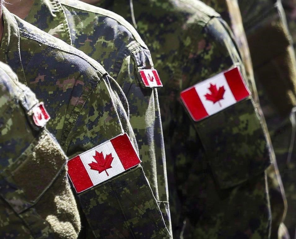 A soldier with alleged ties to a hate group has been relieved of his duties by the Canadian military.