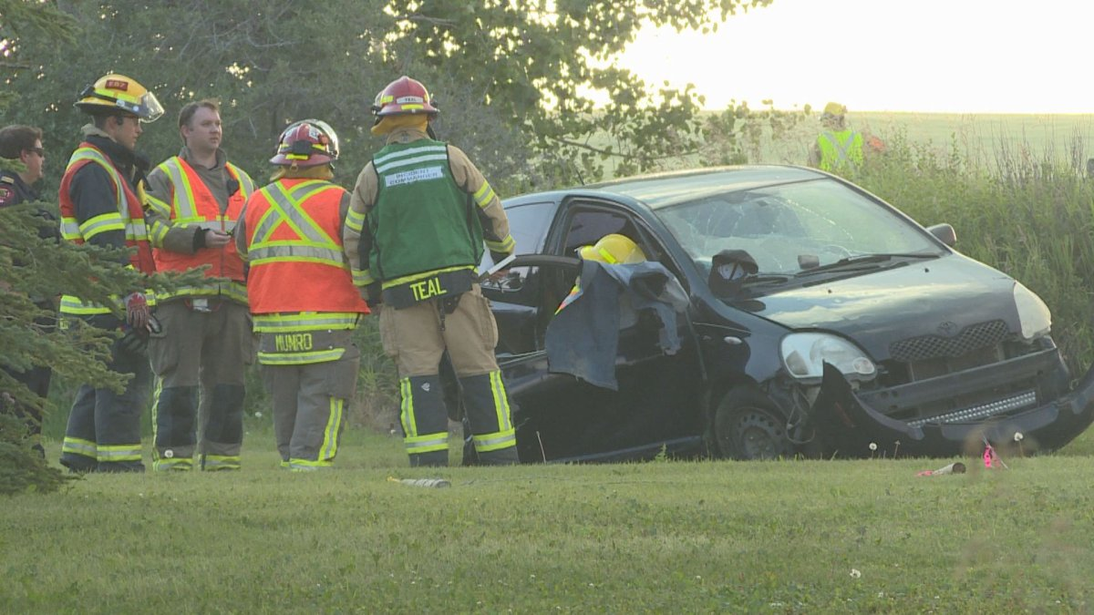 A man was airlifted to Foothills Hospital after a single-vehicle crash near Airdrie on Thursday.