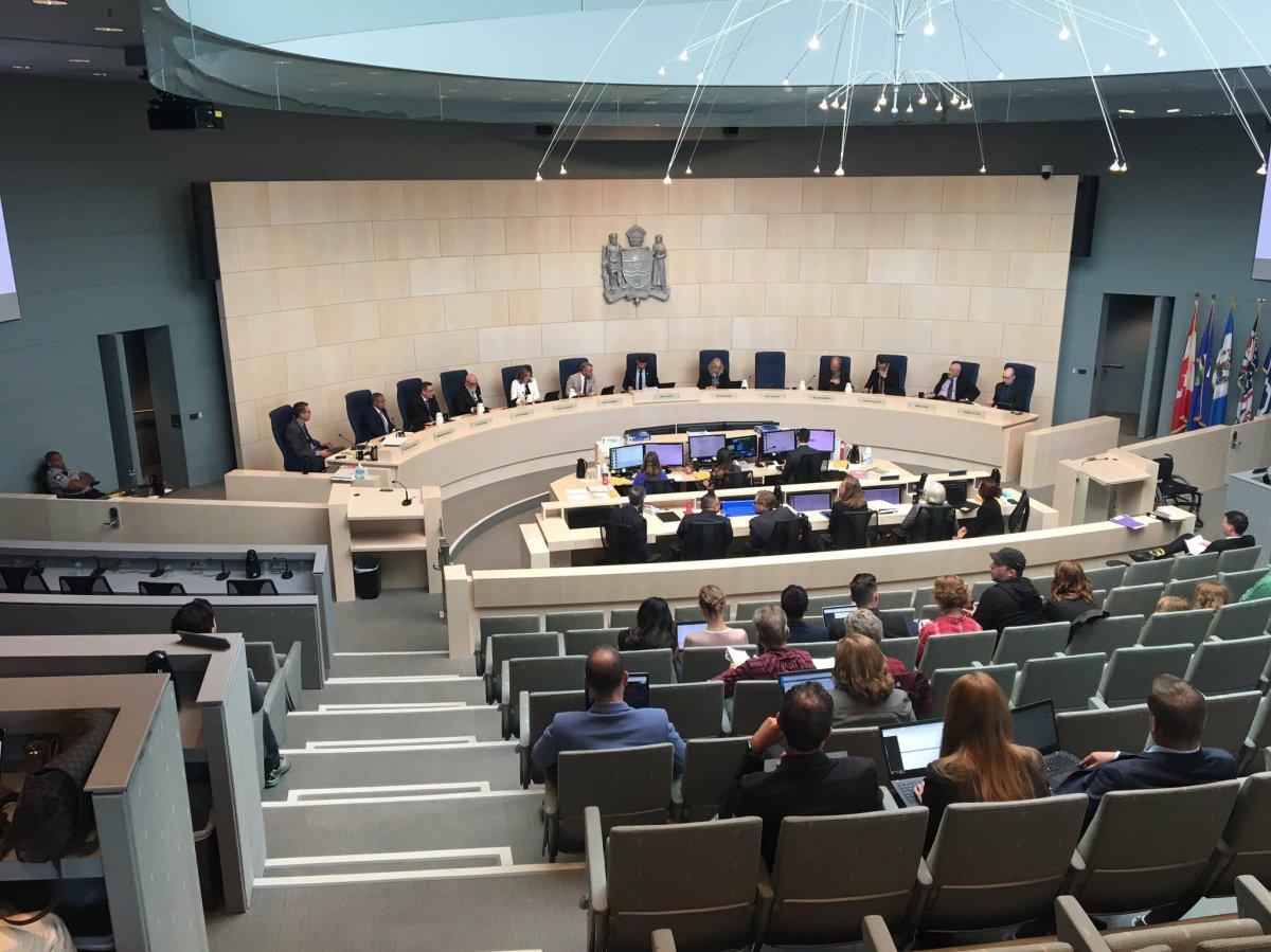Edmonton City Council on Tuesday, Aug. 27, 2019.