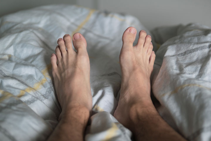 Restless legs syndrome is a common sleep problem.
