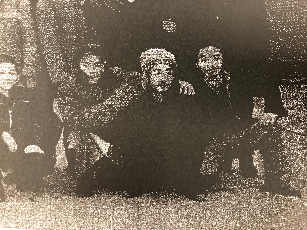 Undated photo of Yang Wei  (right) shortly after he was released from a Chinese prison in 1993.