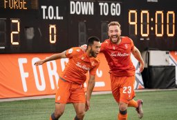 Continue reading: Hamilton's Forge FC makes history by advancing to CONCACAF League Round of 16