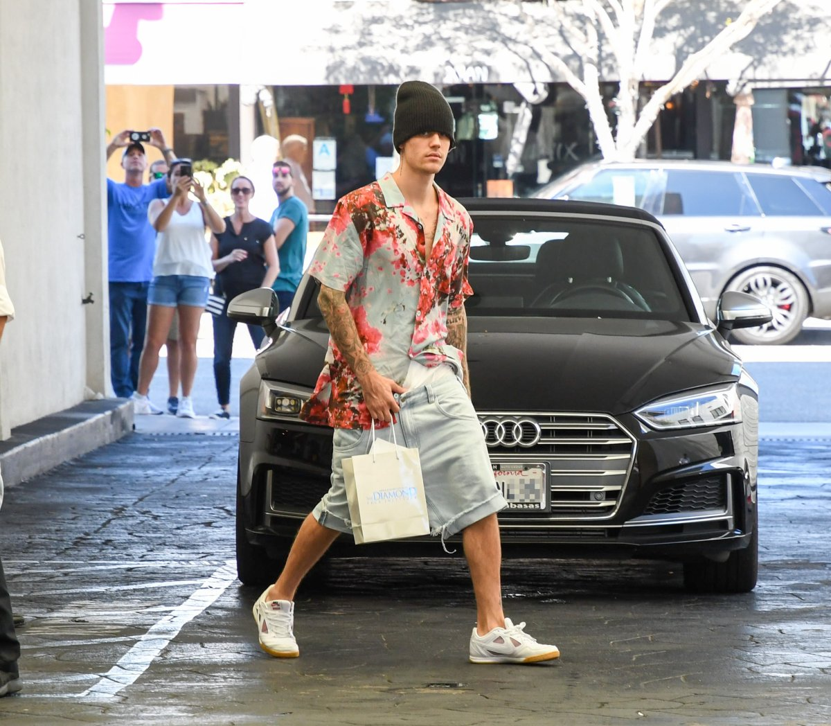 Justin Bieber is seen on Aug. 29, 2019 in Los Angeles, Calif.