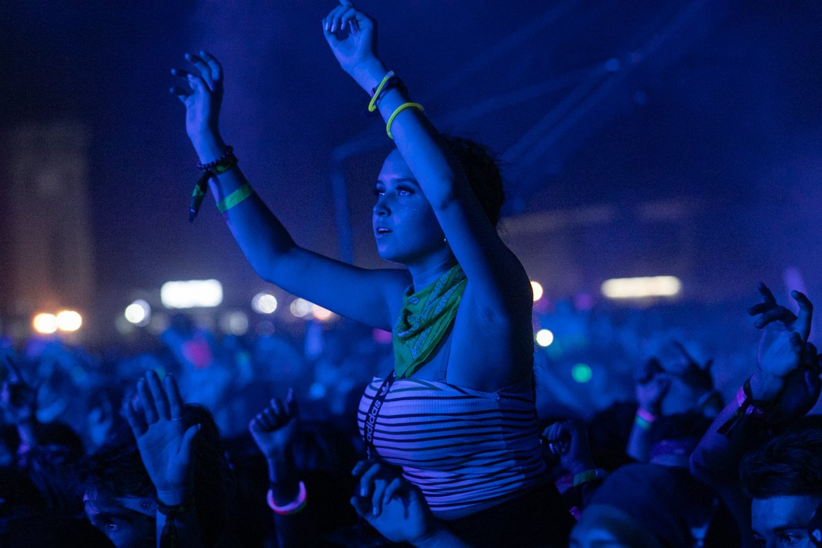 A general view of the atmosphere at the 2019 VELD Music Festival held at Downsview Park on Aug. 04, 2019 in Toronto..