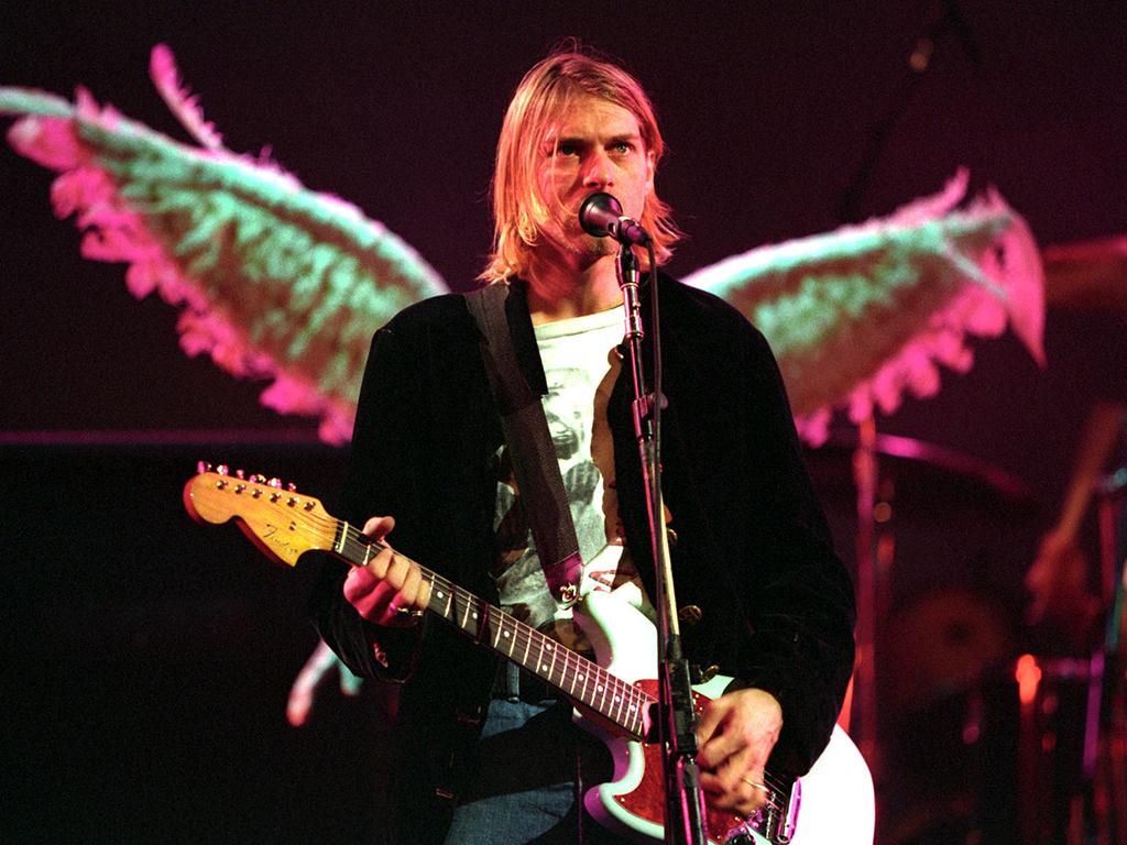 Kurt Cobain of Nirvana.