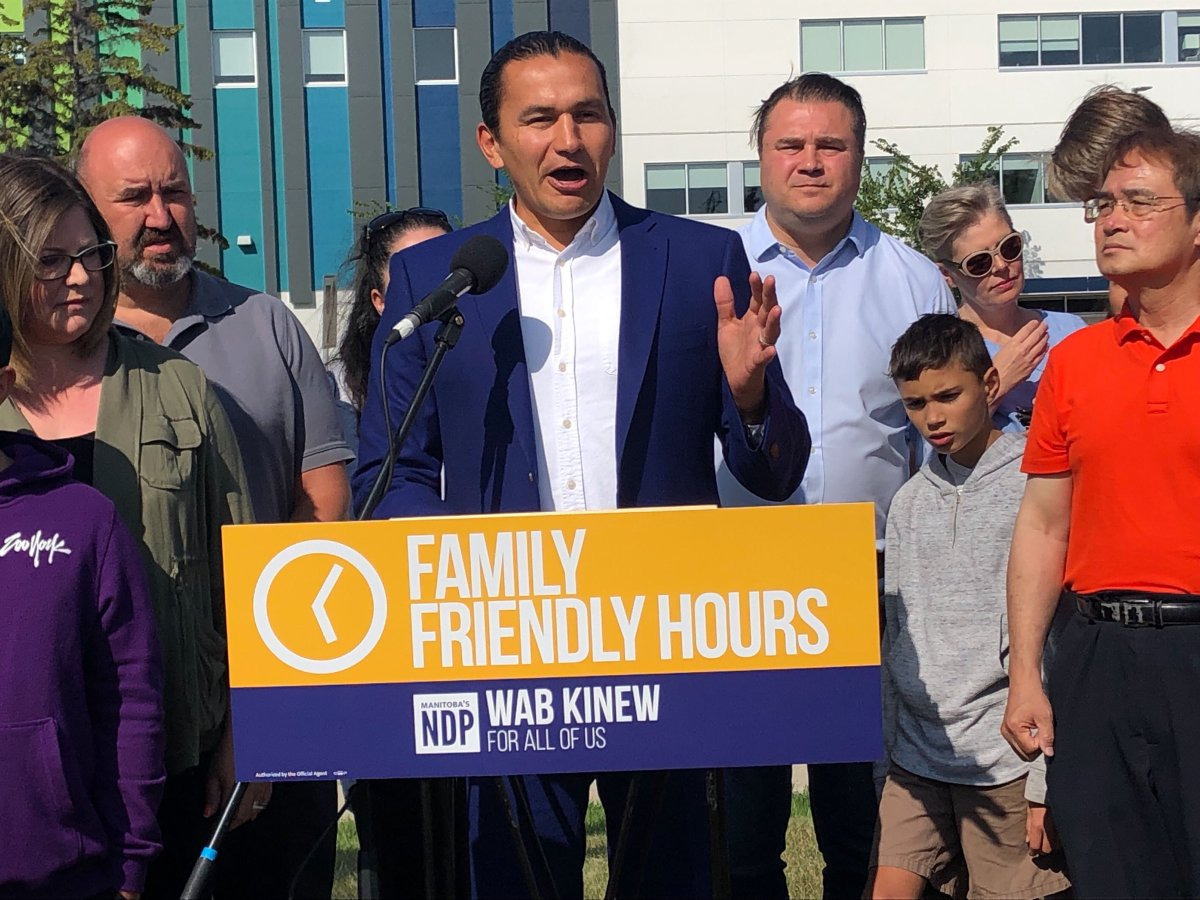 """""""Health care is an important part of families' busy lives,"""" says Manitoba's NDP Leader Wab Kinew."""