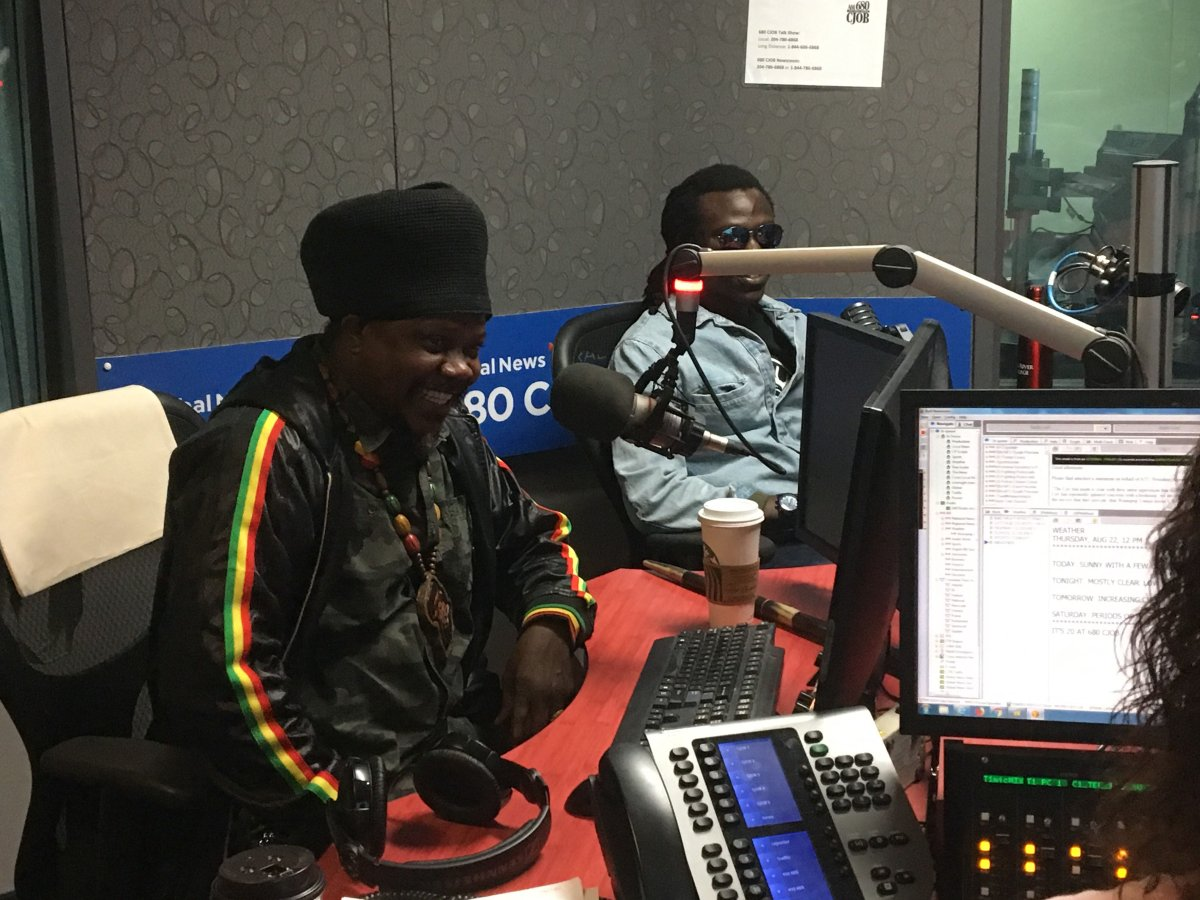 Jamaican vocalist Luciano is in Winnipeg for a performance on Friday night.