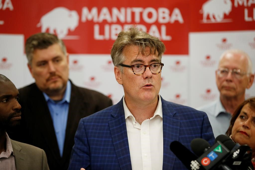 Manitoba Liberal Party Leader Dougald Lamont.