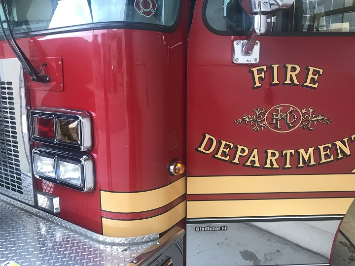 The Kelowna Fire Department said a technical rescue was needed to extricate the male and female.