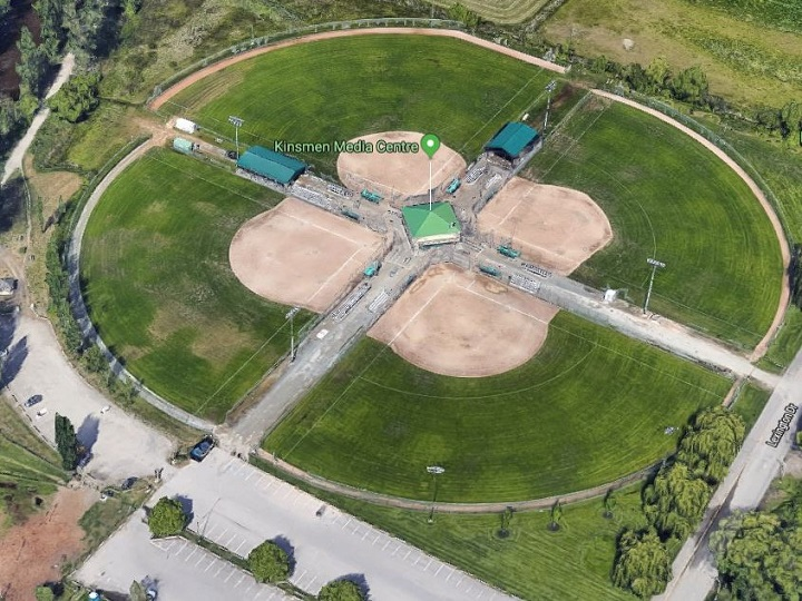 Forty-seven teams from six provinces and one territory are competing at this weekend's slo-pitch national championships in Kelowna. The five-day event is taking place at the Mission sports fields.