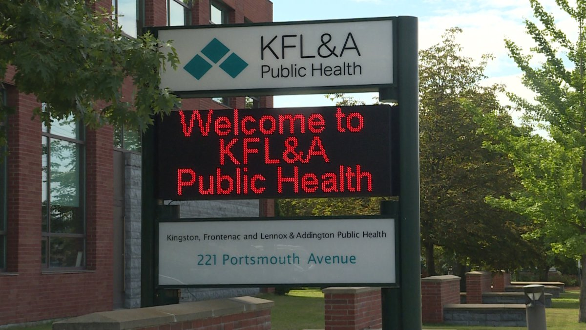 Kingston's public health unit says there is a COVID-19 outbreak at a long-term care facility in the region.