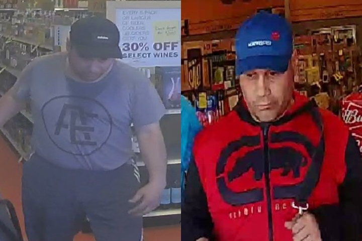 Edmonton police believe one man is responsible for $10,000 worth of liquor being stolen from several stores.