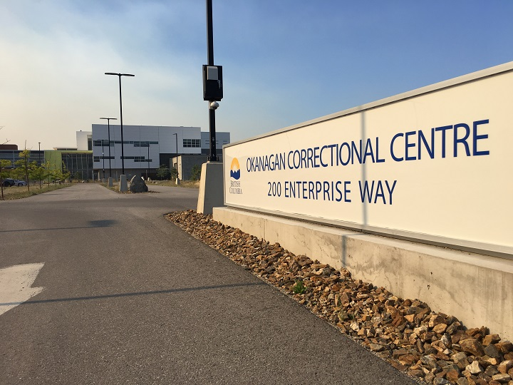 The Okanagan Correctional Centre in Oliver, B.C.