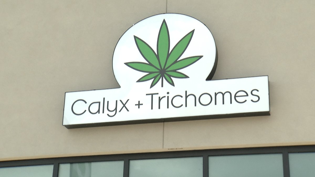 Jennawae McLean, owner of Calyx + Trichomes, announced she had finally obtained a licence to sell cannabis.