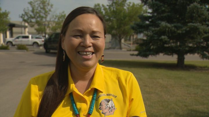 "Roberta Soo-Oyewaste is ""humbled and honoured"" to be the first-ever female chief of the First Nation she has lived on for over 20 years."