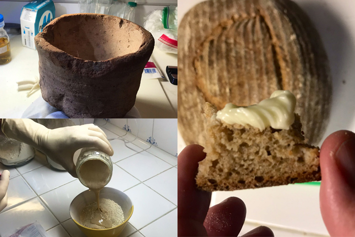 Scientists used yeast harvested from ancient Egyptian pots to make a sourdough recipe from 4,500 years ago.
