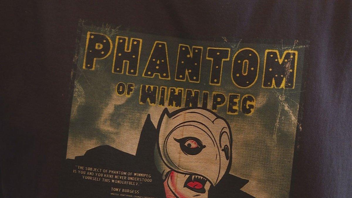 The movie poster for Phantom Of Winnipeg.