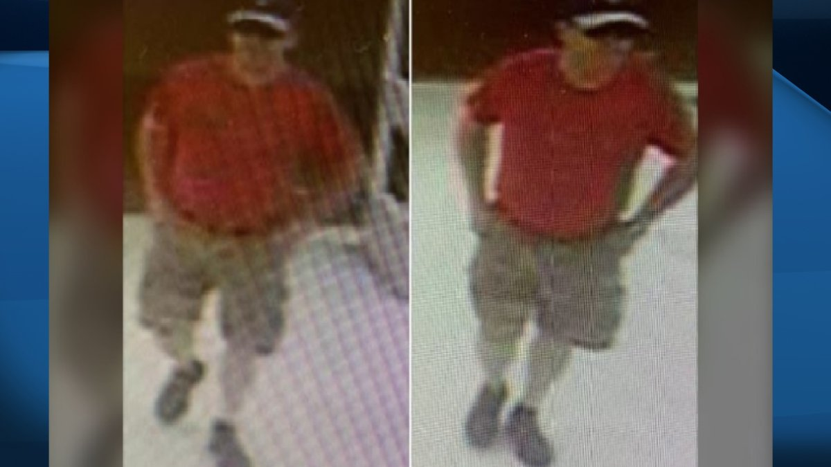 Image of James Darren Peters, who was arrested and charged for sexual offences caught by surveillance cameras.