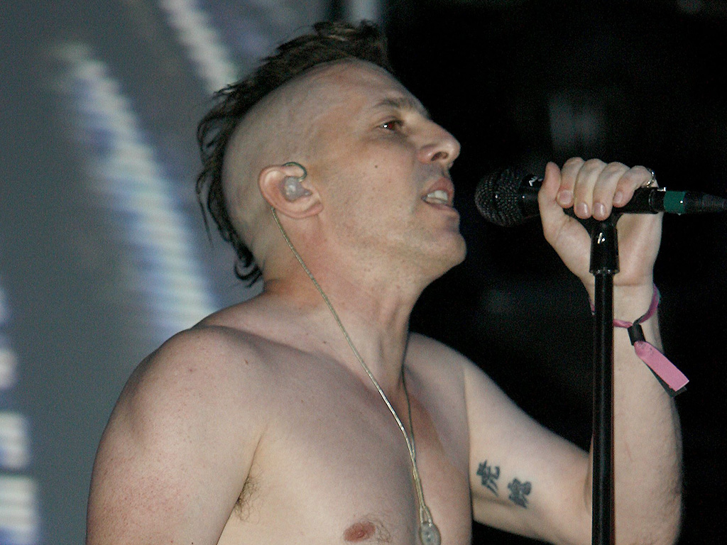Maynard James Keenan, lead singer of Tool, performs at the 2006 Coachella Valley Music Festival in Indio, Calif., on Sunday, April 30, 2006.