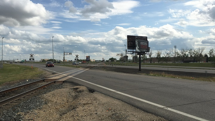 CN Rail and CP Rail will have to approve the relocation of the train tracks on Ring Road between Winnipeg Street and McDonald Street before the city can move forward.