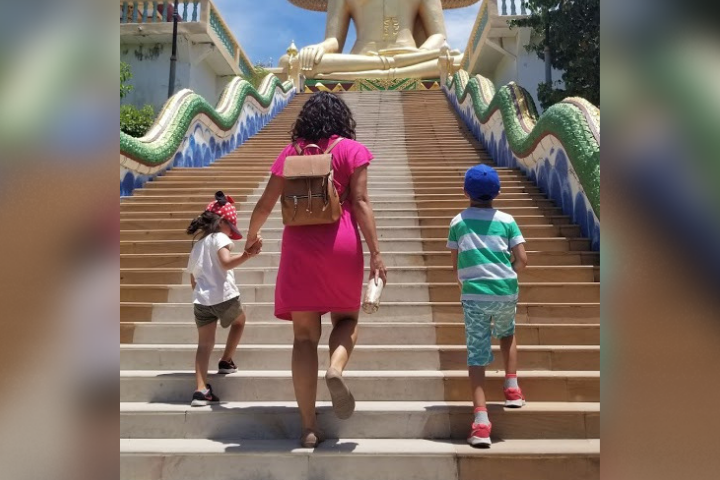 Farah Nasser: 7 flights in 3 weeks with 2 kids — how to travel with children.