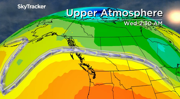 Upper ridge of high pressure keeps skies sunny and temperatures warm for the final week of August.