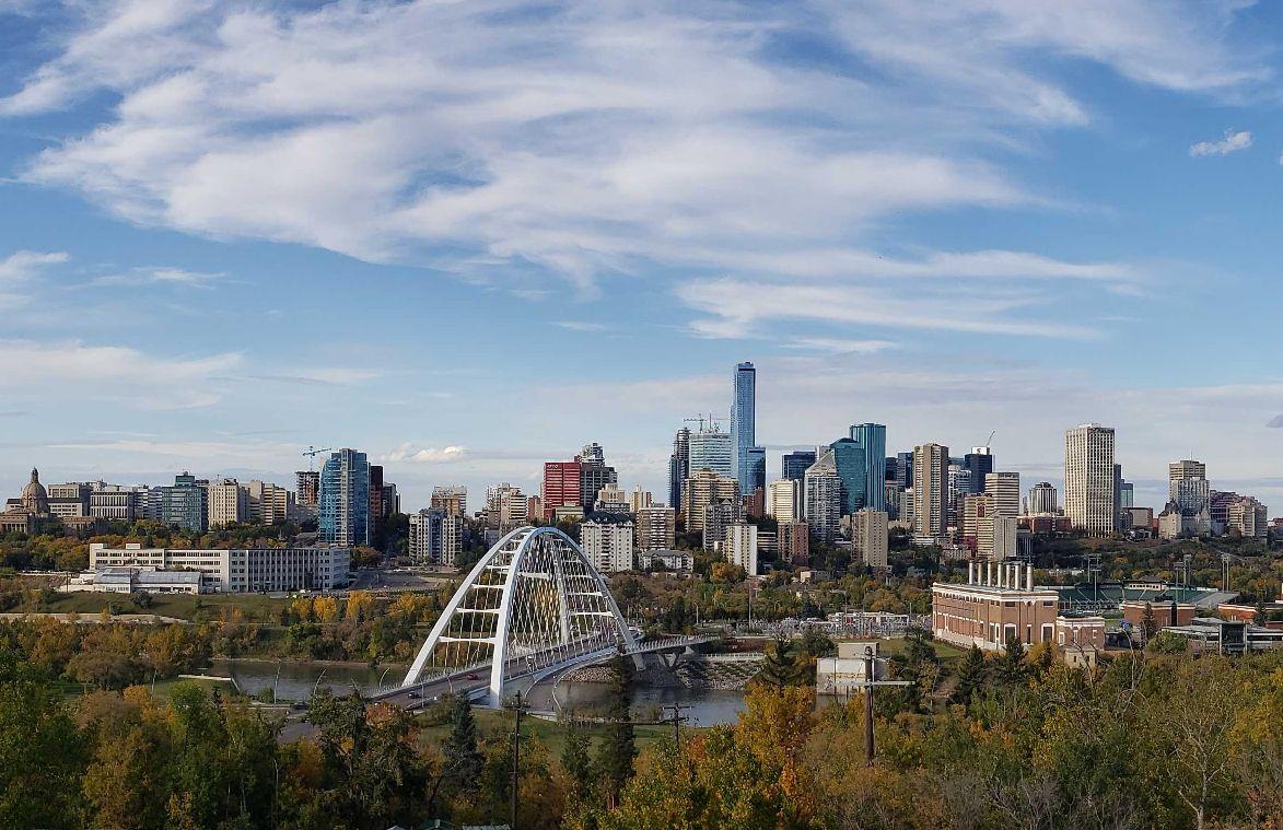 File photo of Edmonton's skyline. Sept. 22, 2019.