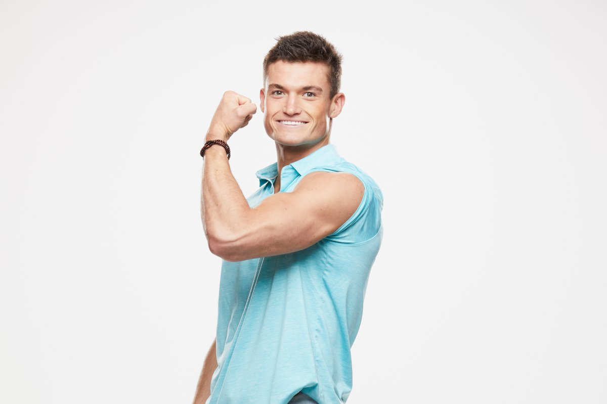Jackson Michie, houseguest on the CBS series 'Big Brother.' .