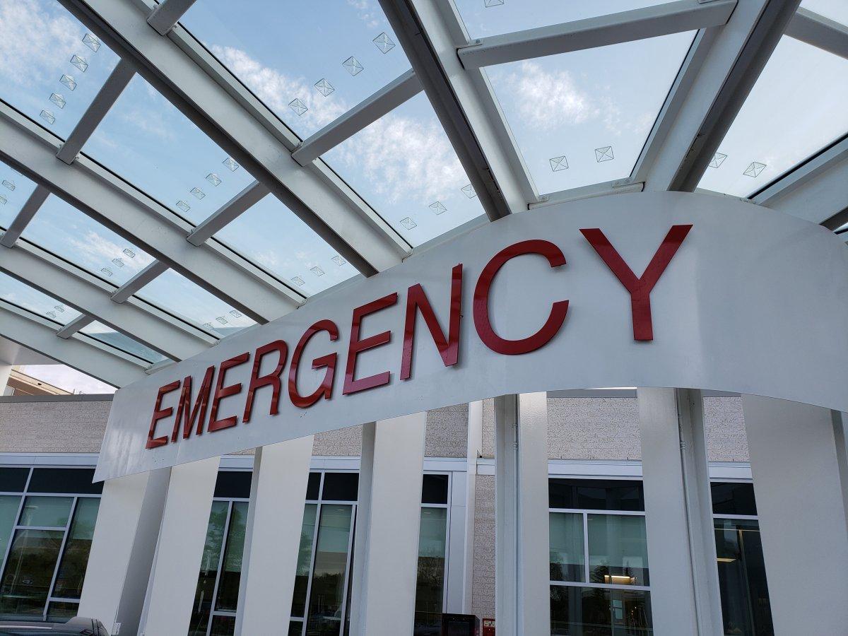 The Grace Hospital Emergency Room.