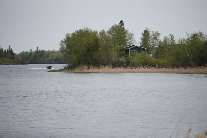 A house sits on the edge of Shoal Lake 40 First Nation on Thursday, May 30, 2019.