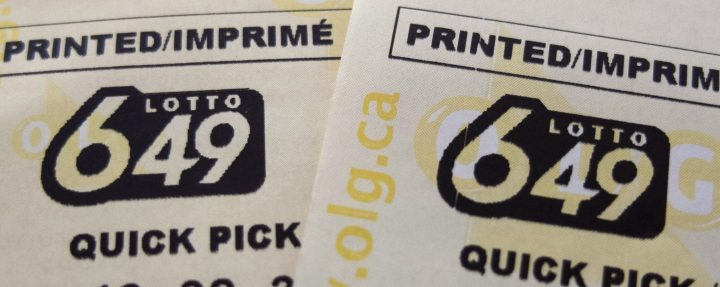A file image of Lotto 6-49 tickets.