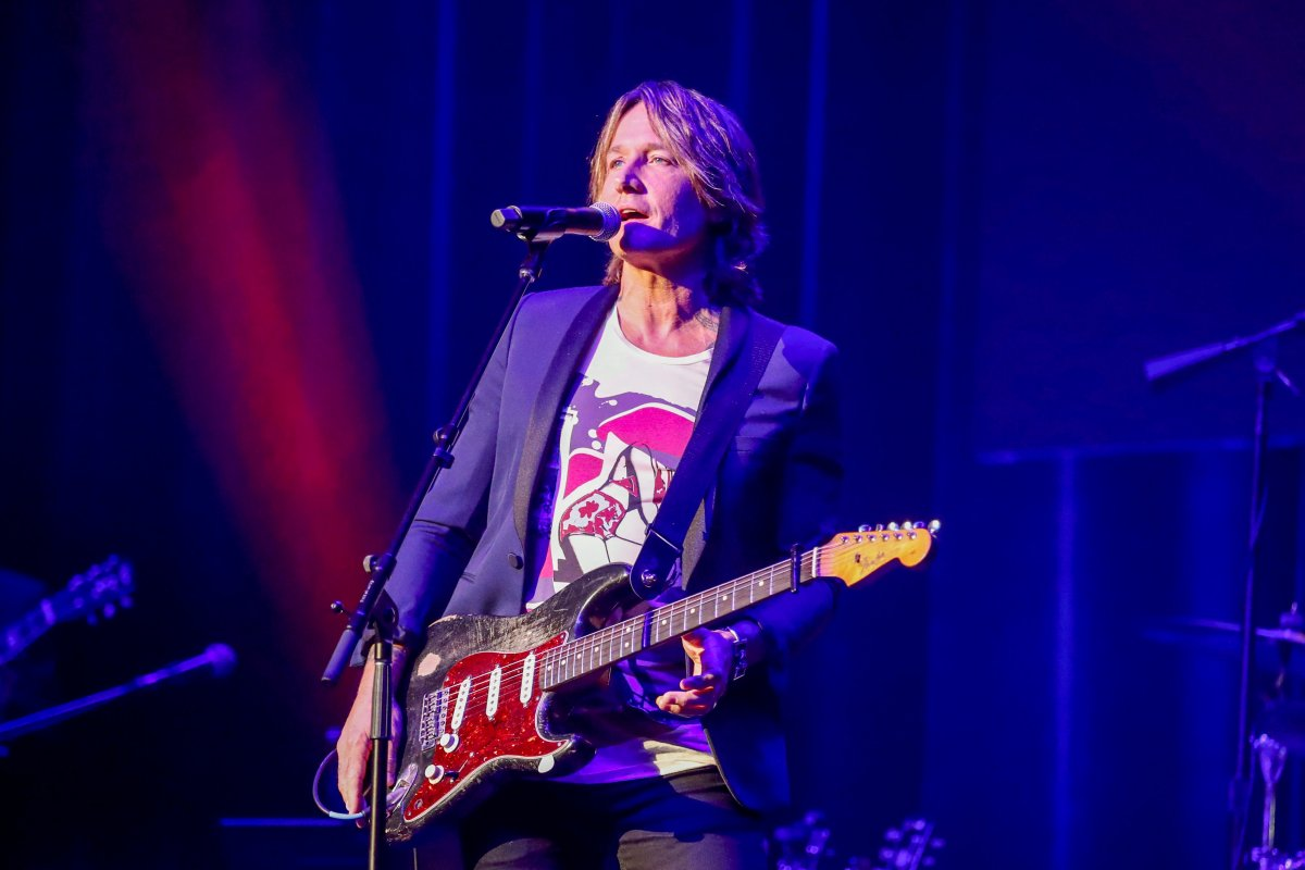 Keith Urban performs at the 13th annual ACM Honors at the Ryman Auditorium on Wednesday, Aug. 21, 2019, in Nashville, Tenn.