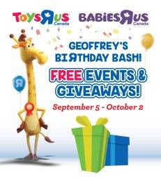 Continue reading: Geoffrey's Birthday Bash