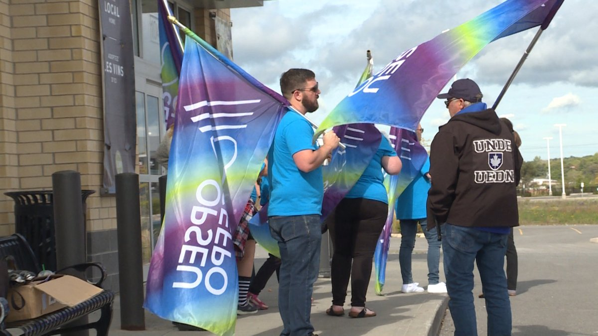 Members from OPSEU local 497 believe the Ford government is trying to privatize liquor sales one store at a time.