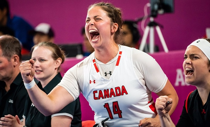 Erica Gavel, of Prince Albert, Sask., is just one many wheelchair basketball players in jeopardy of missing out on the 2020 Paralympics Games in Tokyo due to an ongoing dispute between the IWBF and the IPC.