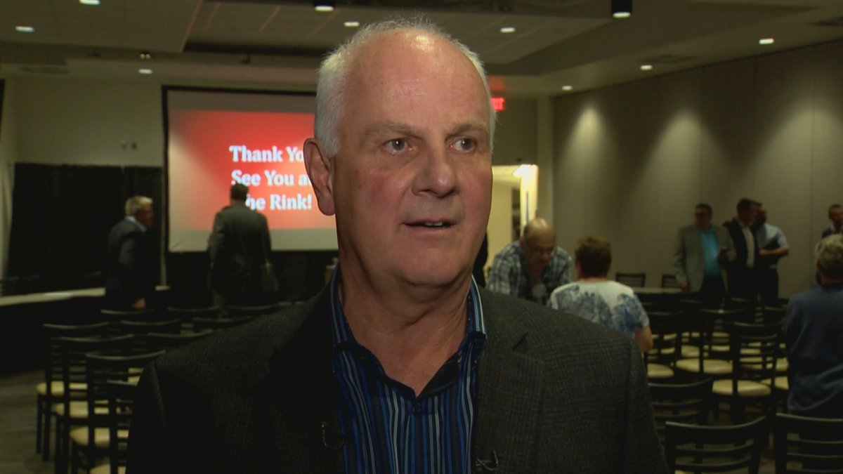 Lethbridge Hurricanes GM Peter Anholt addressed the media following the club's 2019 Annual General Meeting.