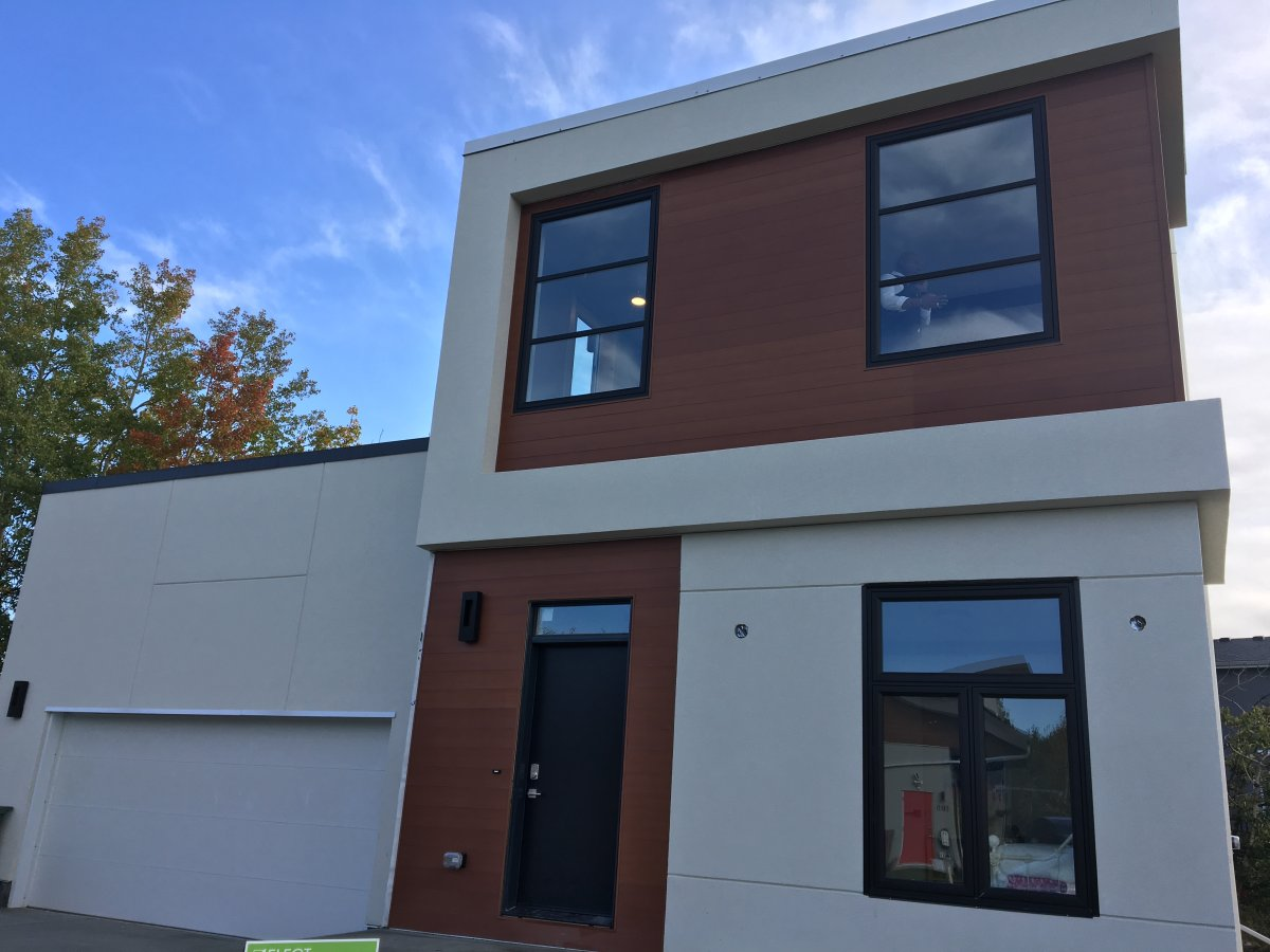 Alberta Developer Shows Off Its First Shipping Container Family Home In Calgary Globalnews Ca