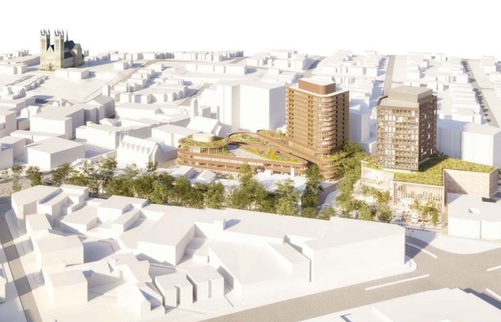 Guelph city council approved $67 million in construction costs for a new library in the city's Baker District development.