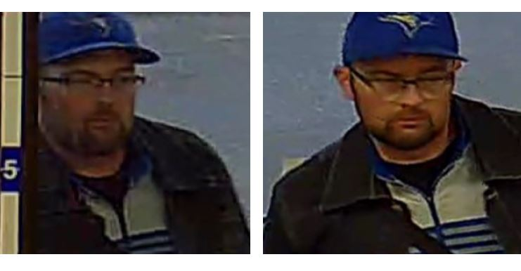 Calgary police are looking to identify a person of interest after stolen credit cards were used at a convenience store.