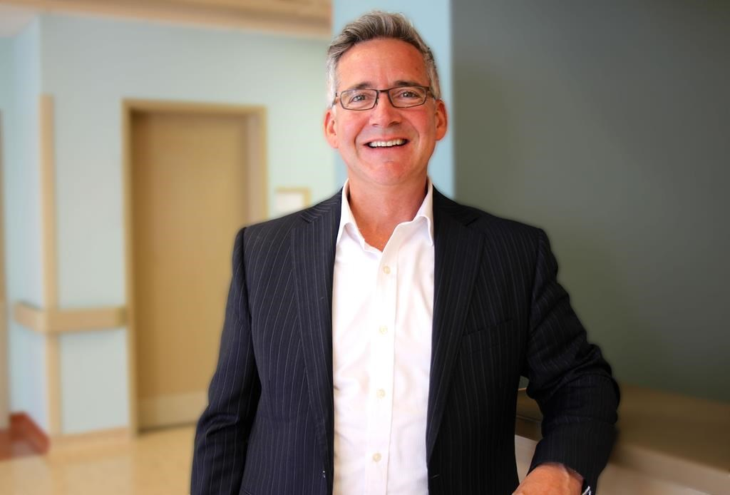 A former emergency doctor is taking on leadership of Nova Scotia's health authority about four years after the Liberal government merged nine districts into one agency. Dr. Brendan Carr is seen in an undated handout photo.