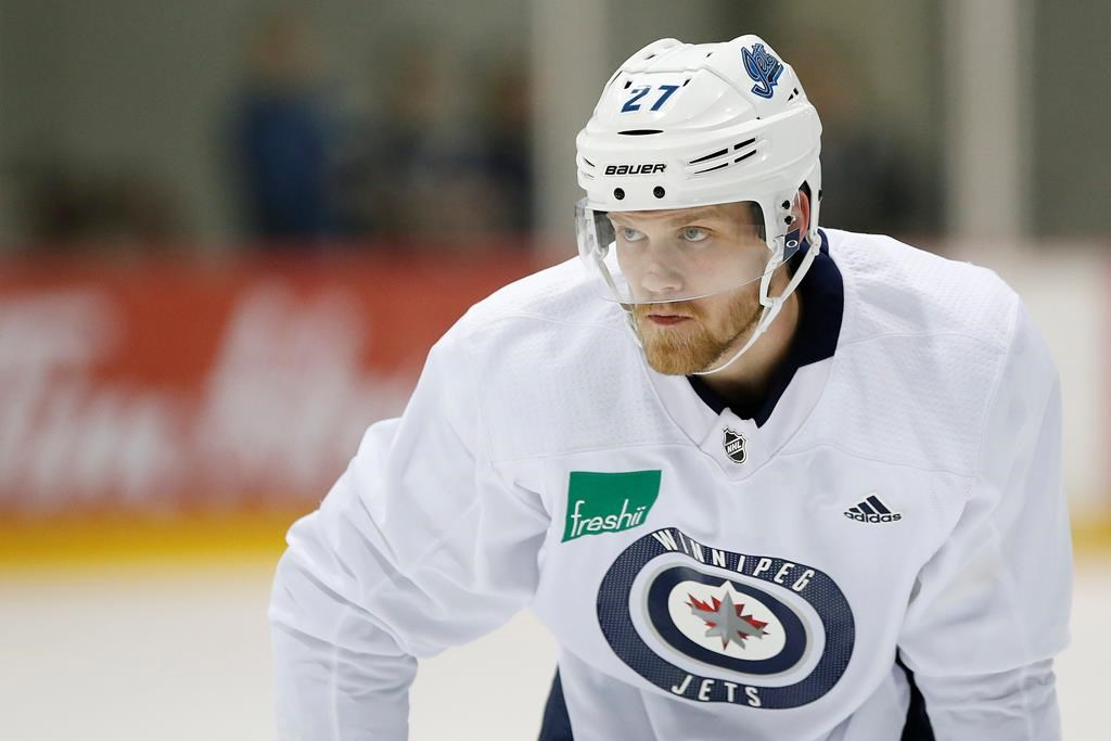 Winnipeg Jets' Nikolaj Ehlers has spent the off-season reviewing his play last year.