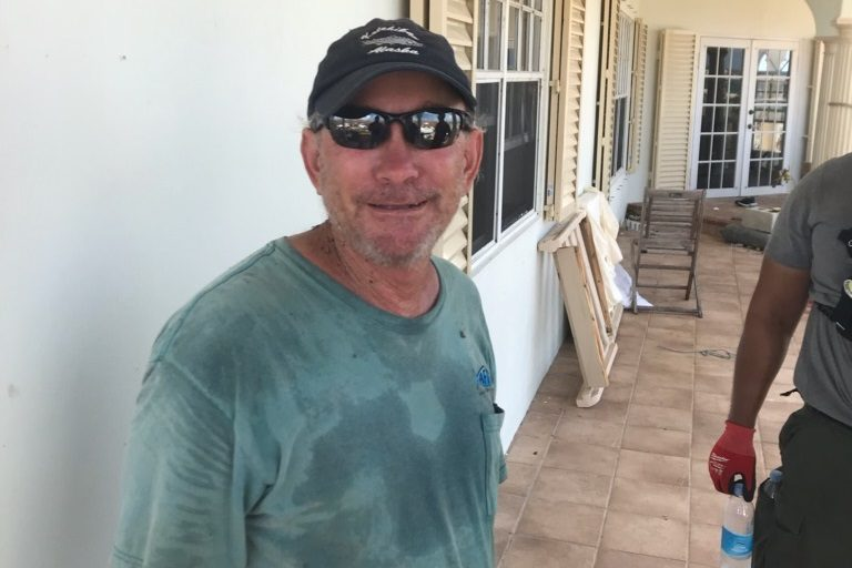 Canadian Dale Hill was located safely at his home on Greater Abaco Island.
