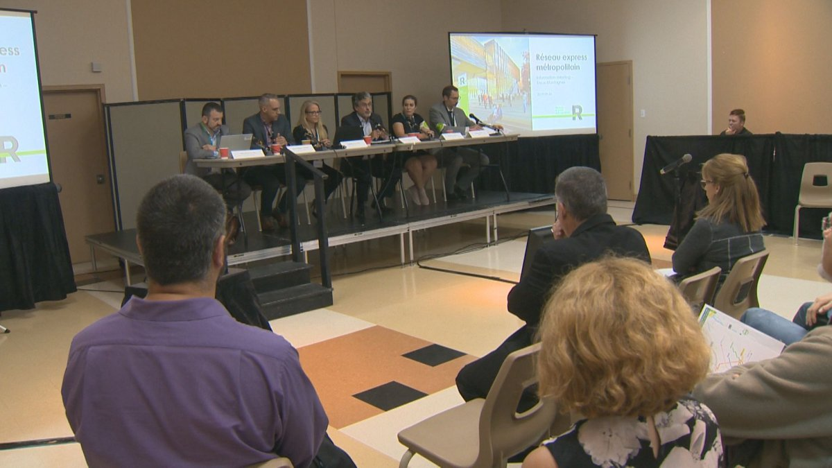 A Deux-Montagnes REM information session was held on Thursday, Sept. 26, 2019.