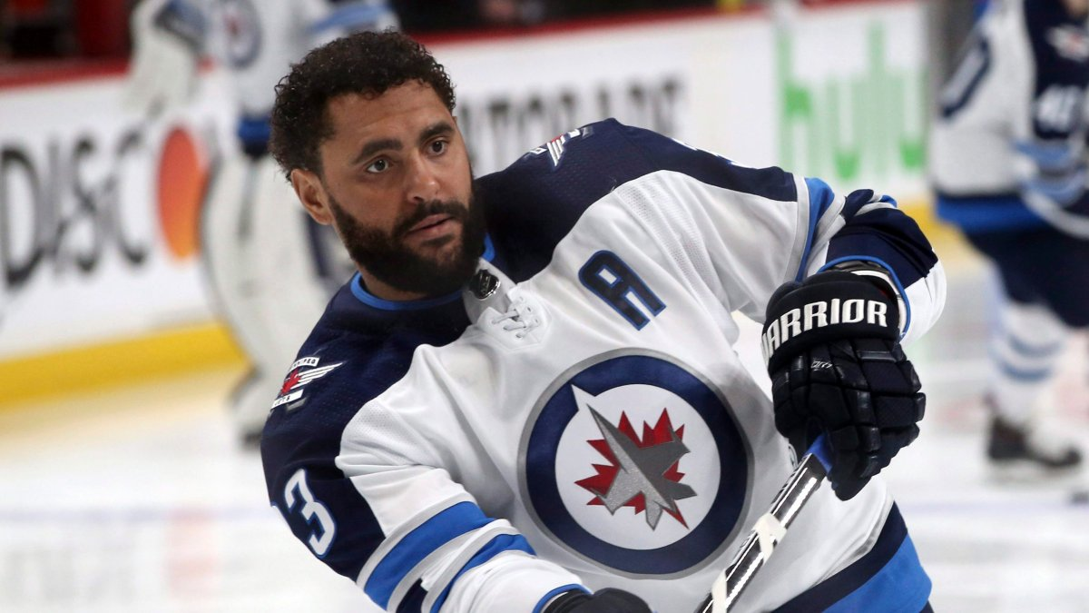 Winnipeg Jets defenceman Dustin Byfuglien.