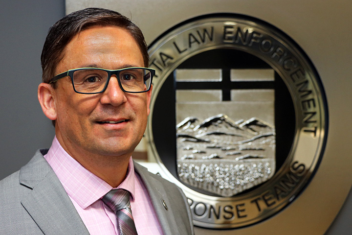 Dwayne Lakusta, an Edmonton police officer with more than two decades of experience, is the new CEO of Alberta Law Enforcement Response Teams (ALERT).