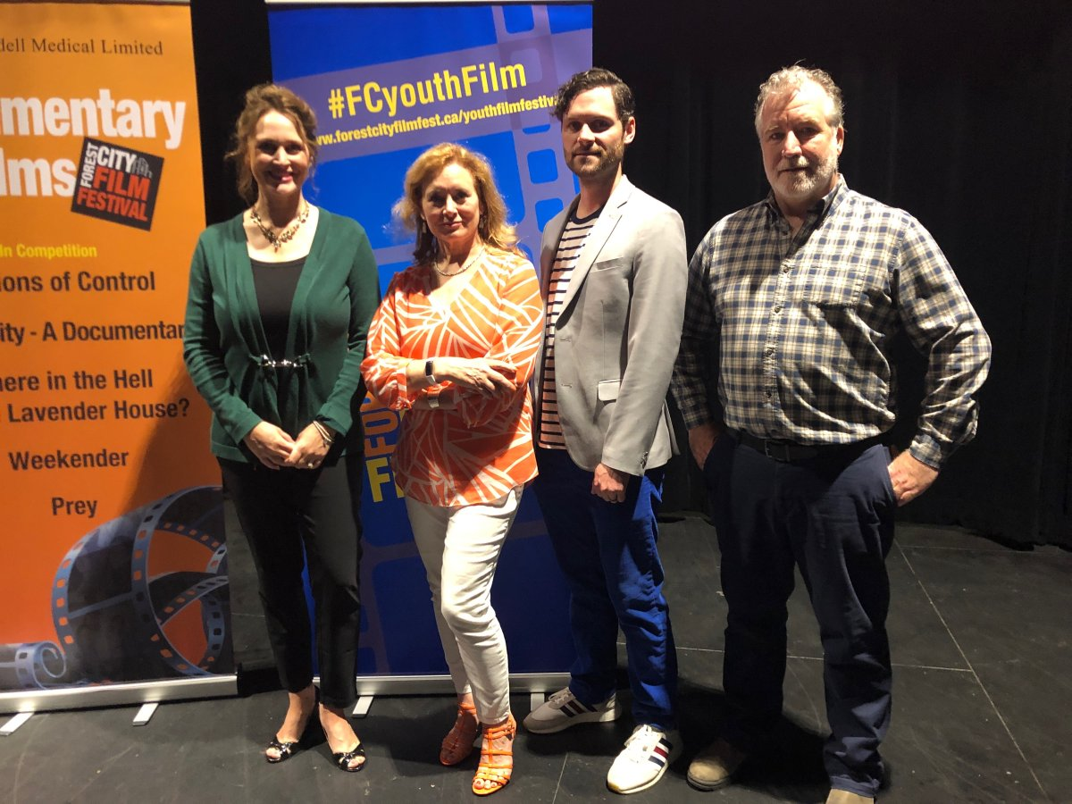 Forest City Film Festival organizers at the launch for the new season.